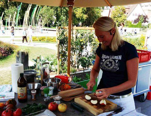 """""""Veggie Food"""" bei der Landesgartenschau in Öhringen 2016"""
