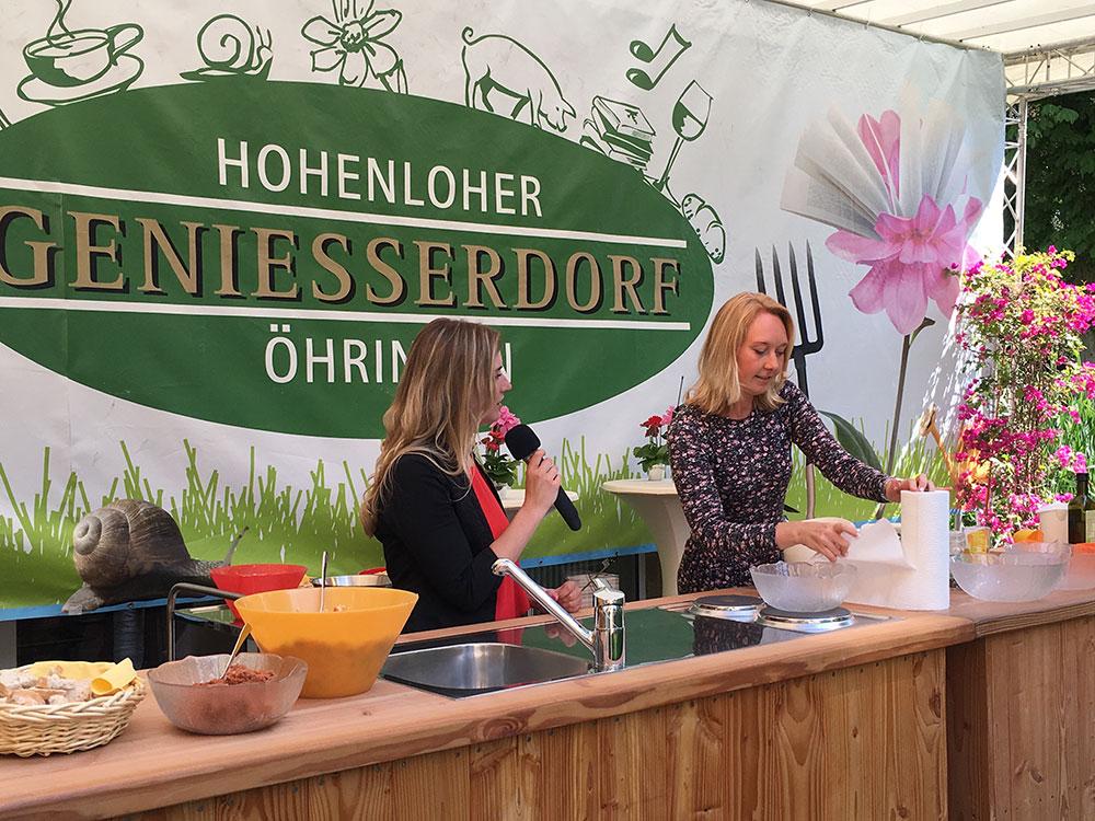 Hohenloher Genießer Dorf Veggie Food