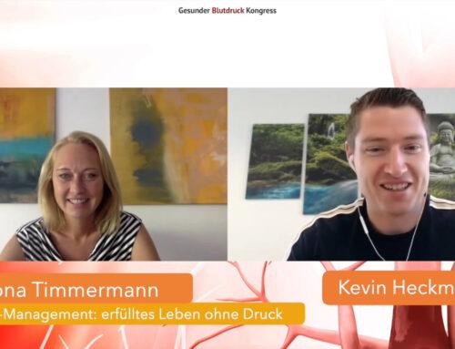 SOUL-MANAGEMENT = Erfülltes Leben ohne Druck – Blutdruck-Kongress mit Kevin Heckmann September 2020